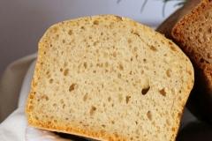 Hartweizen-Dinkel-Brot