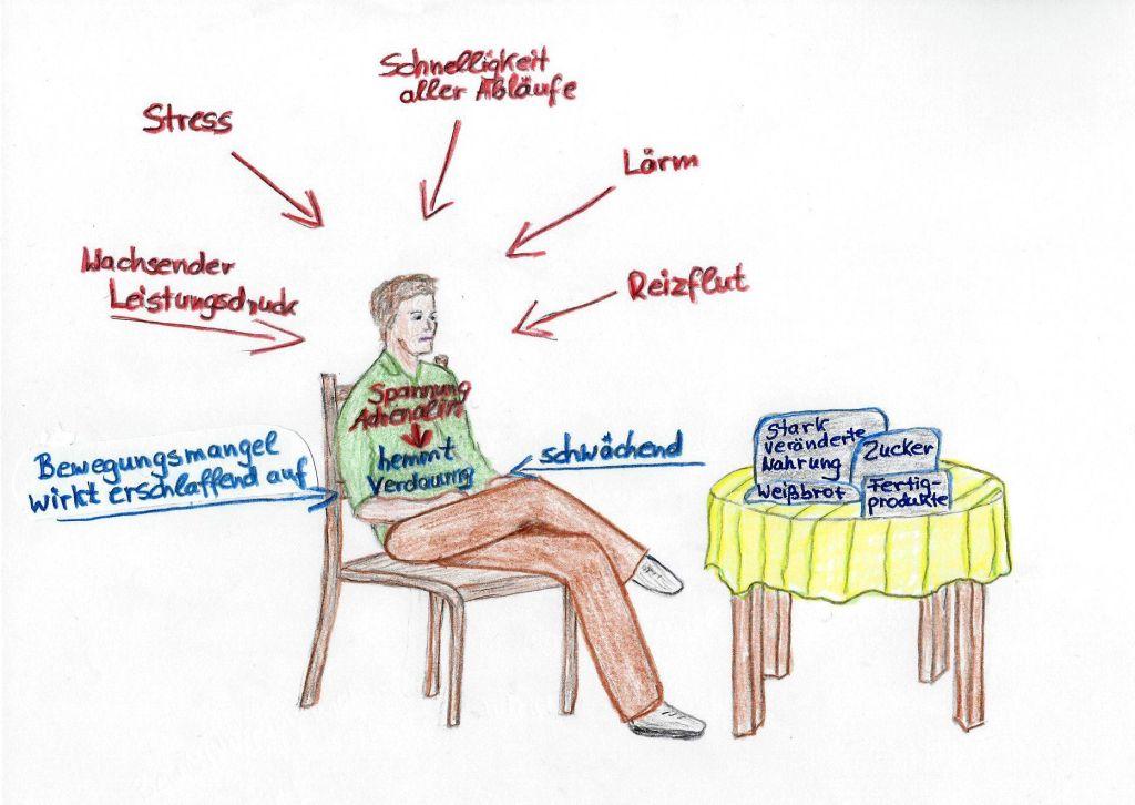 Das Verdauungssystem zwischen Schwäche und Überforderung | Heilsame ...